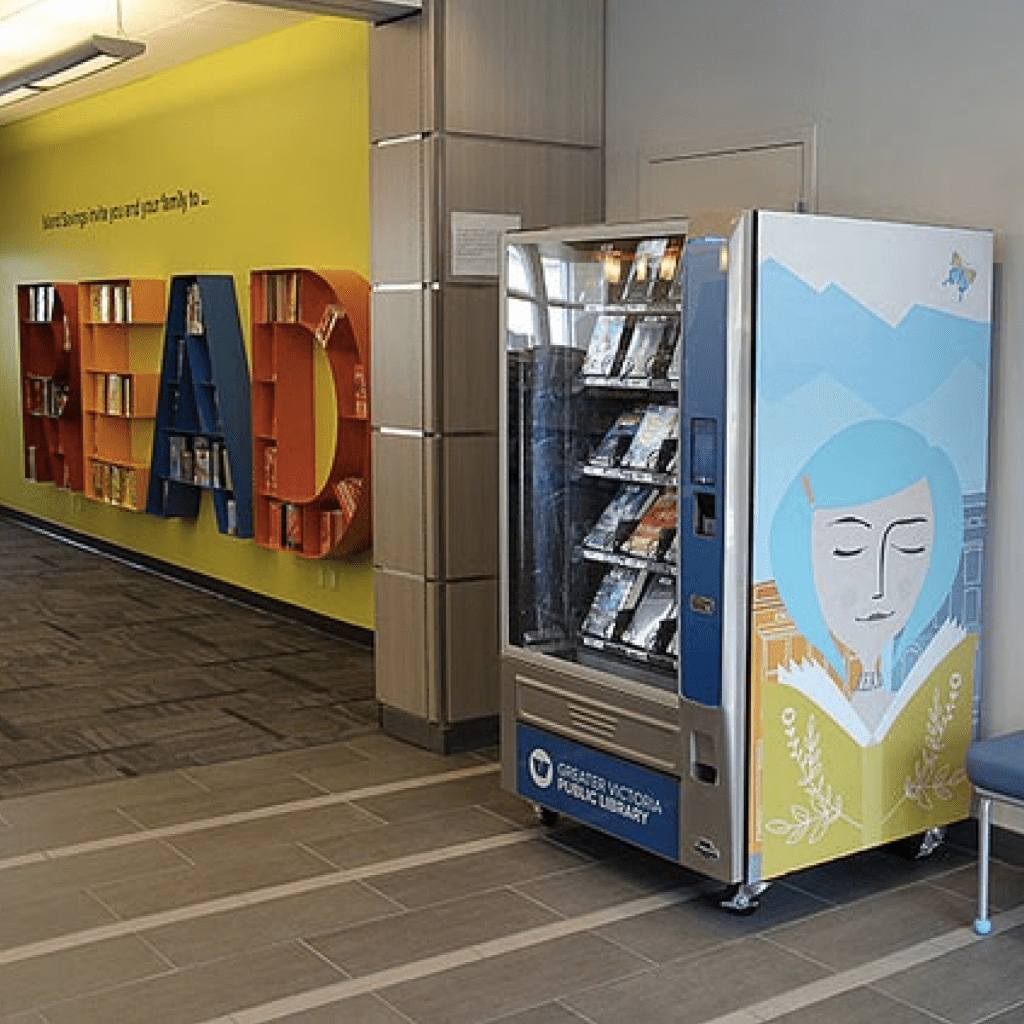 library vending automation technology