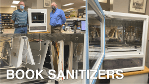 LIBRARY BOOK SANITIZER