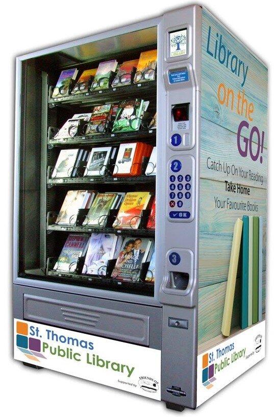 lending library vending machine